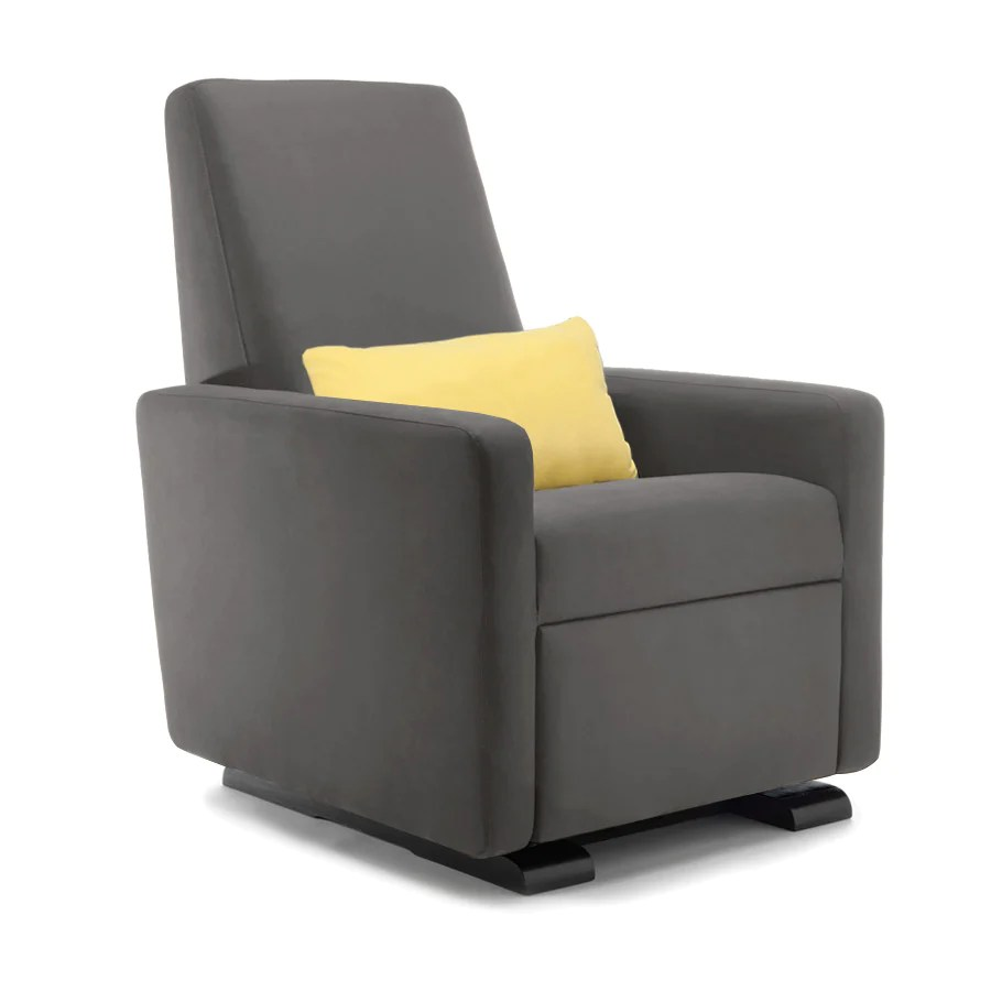 glider recliner chair large living room with ottoman motorized grano by monte design modern nursery