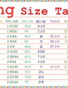 Ring size in cm also people davidjoel rh