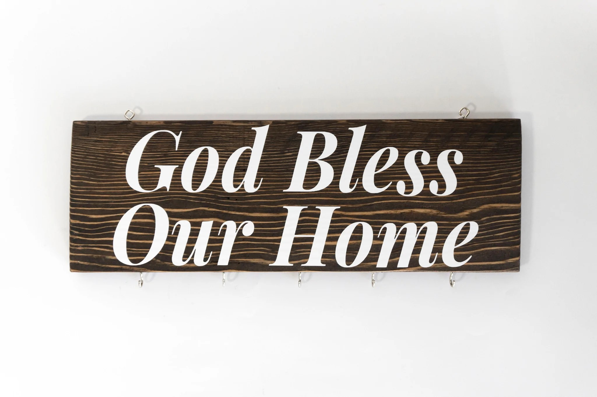 God Bless Our Home Wood Wall Decor Simply Uncaged Gifts