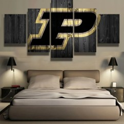 Images Of Living Room Wall Decor Interior Purdue Boilermakers College Team Fan Art Canvas Cheap Prints