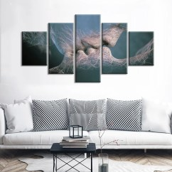 Images Of Living Room Wall Decor With Fireplace Decorating Ideas Love Kissing Kiss Man Woman Art Canvas Print Bedroom Cheap