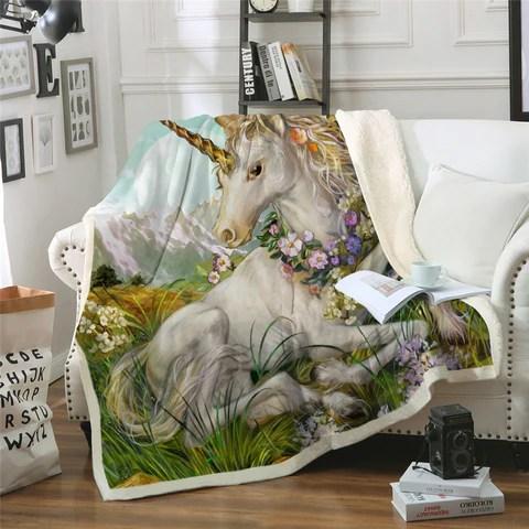 unicorn pillows blankets 100 unicorns