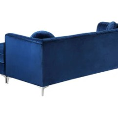 Gold Sectional Sofa Milari Linen Queen Sleeper Elvina Navy Buy 1500 In A Modern Furniture Store Fairfield Nj Casa Eleganza Mattress