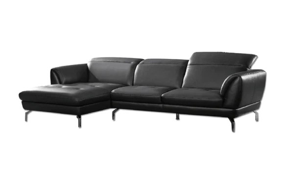 e saving sectional sofas how to spot clean a fabric sofa leather buy in modern furniture store fairfield sofronia black