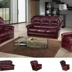 Leather Sofa Set For Living Room Furniture Setup Ideas Alana Modern Buy 4199 In A