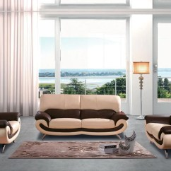 Leather Sofa Set For Living Room Entertainment Center Decorating Ideas Mila Modern Buy 2539 In A Furniture