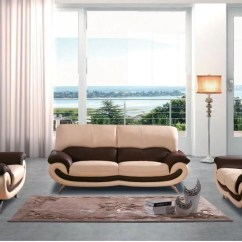 Leather Sofa Sets For Living Room Stylish Curtains 27 Modern Set One Loveseat Chair Buy 899