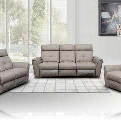 Leather Sofa Sets For Living Room Simple Interior Design In India Julianna Modern Recliner Set Buy 3200 A
