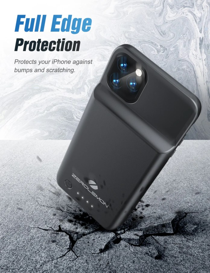 Iphone 11 Pro Max Wireless Charging Battery Case 5000mah Shipping To