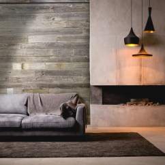 Wood Wall Living Room Mirrored Furniture Transform Your With A Accent Vinta Reclaimed