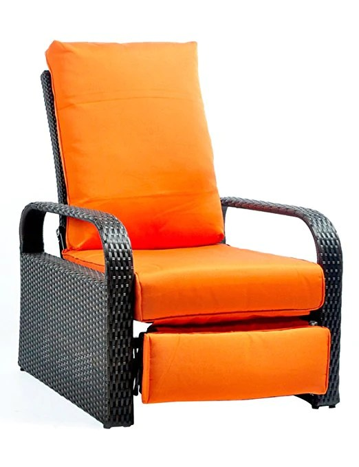 wicker recliner chair high top table and chairs outdoor patio lounger babylonpatio