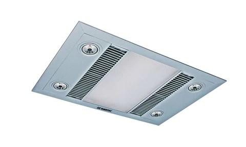 linea bathroom 3in1 exhaust fan heat led light