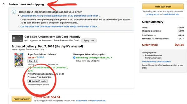 Why You Should Bother Filling Out That Amazon Gift Receipt Birthday Butler