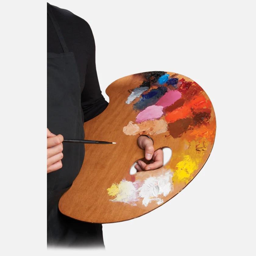 Wave Academian Artist Palette - Art