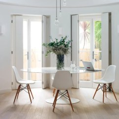 Tulip Table And Chairs Low Lawn Target To Go With Set Up In A Small Alcove Without Taking Too Much Of Physical Visual Space They Balance Each Other Out Perfectly Look Very Harmonious Together