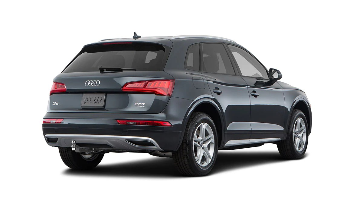 medium resolution of audi q5 sq5 trailer hitch for model 2018 present by stealth hitches