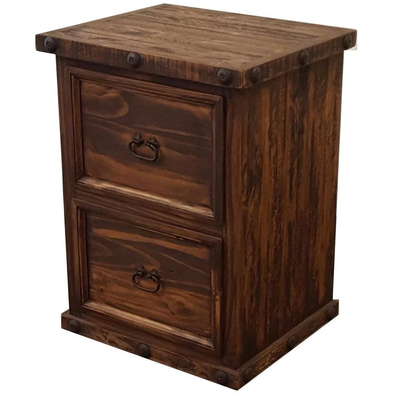 Oasis Short File Cabinet  Rustics for Less