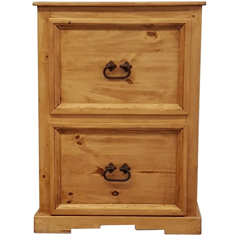 Traditional Short File Cabinet  Rustics for Less