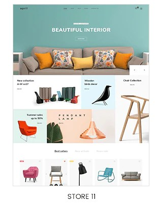 interior and decoration store shopify
