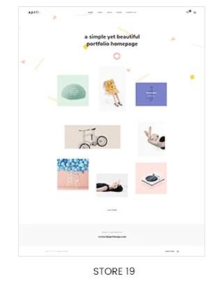 portfolio shopify theme