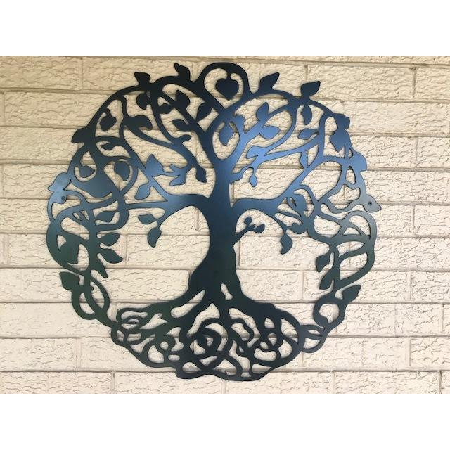 tree of life metal wall art sign cascade manufacturing