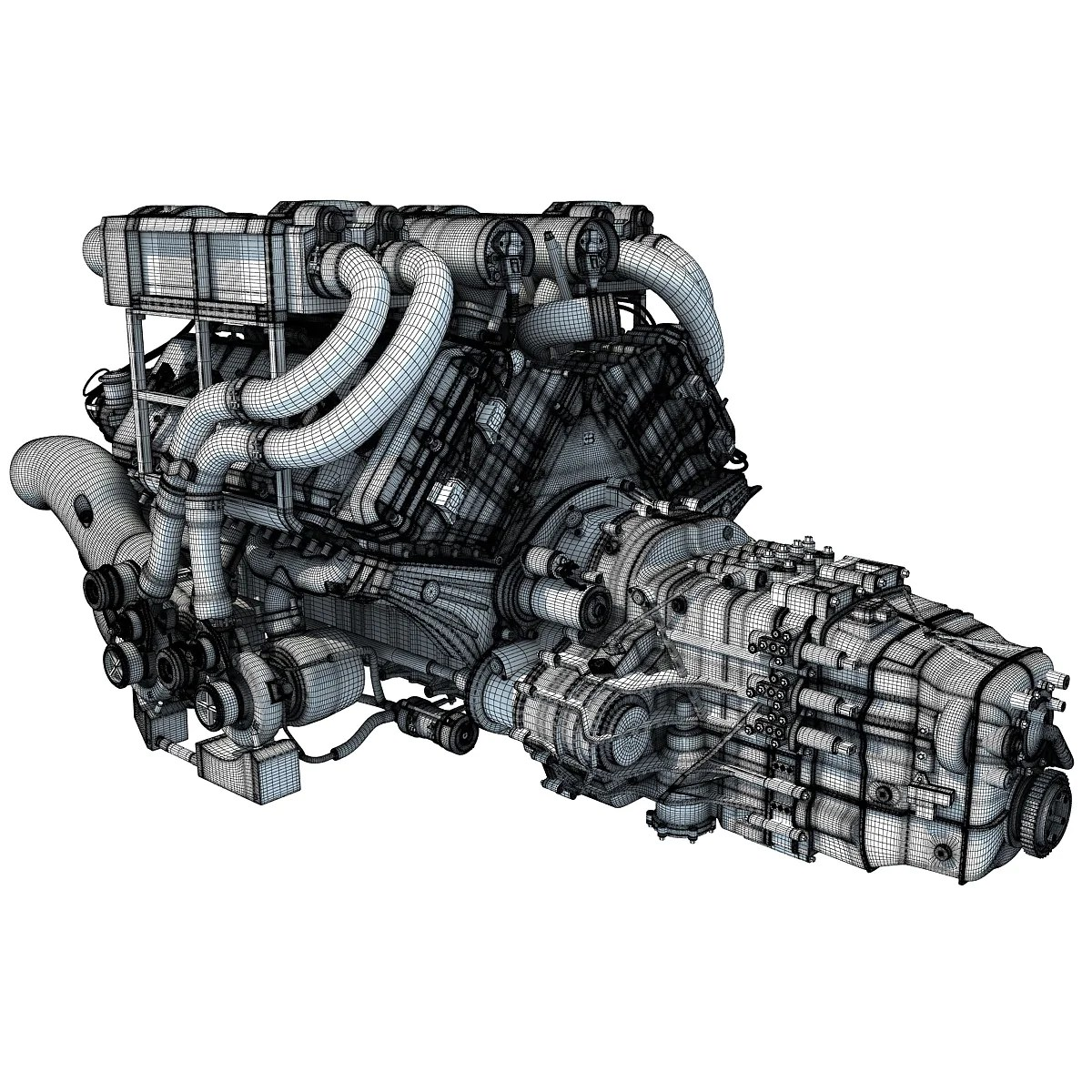 motor bugatti veyron w16 impremedia net bugatti veyron w16 engine animation bugatti veyron engine diagram [ 1200 x 1200 Pixel ]