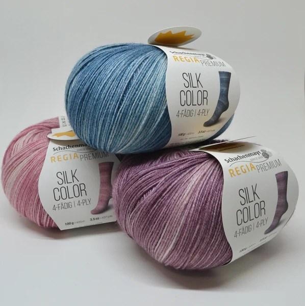 Regia Silk Color -sukkalanka