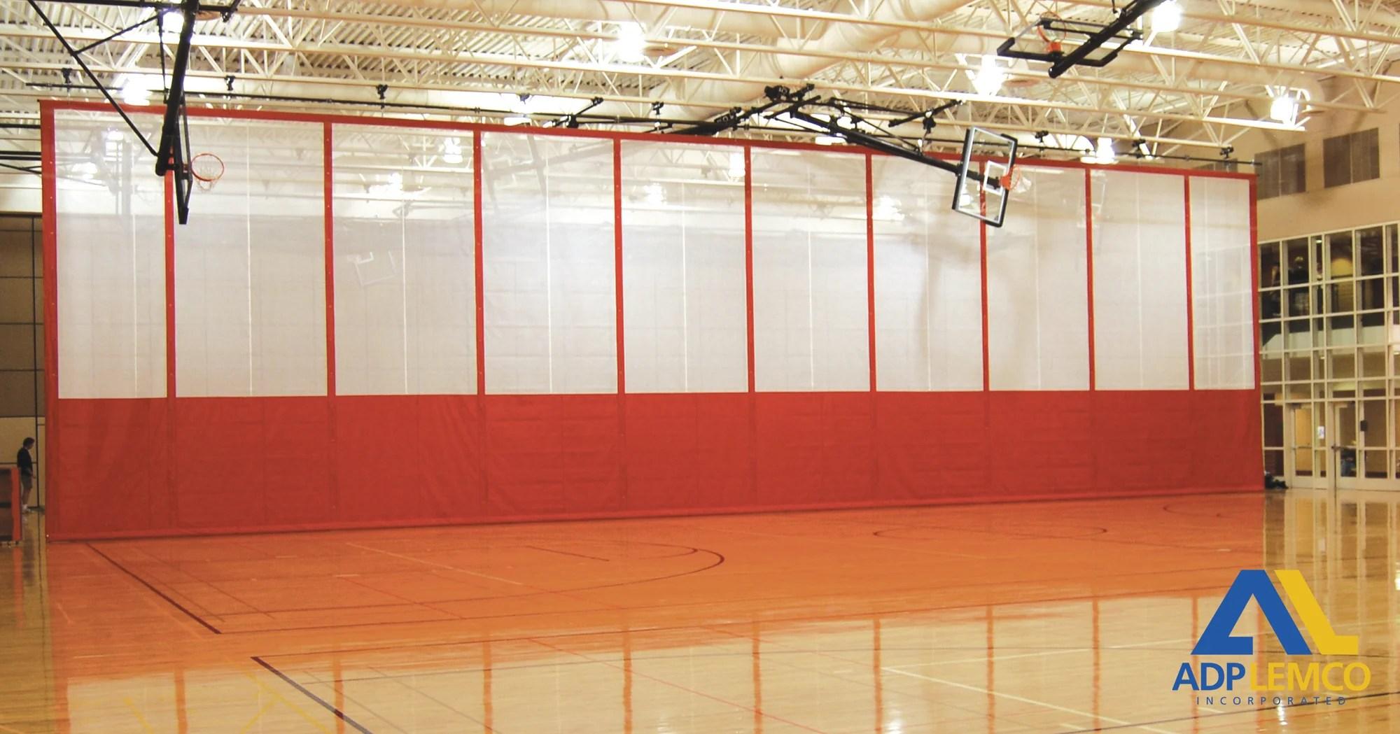 adp fold up gym divider curtain p adp