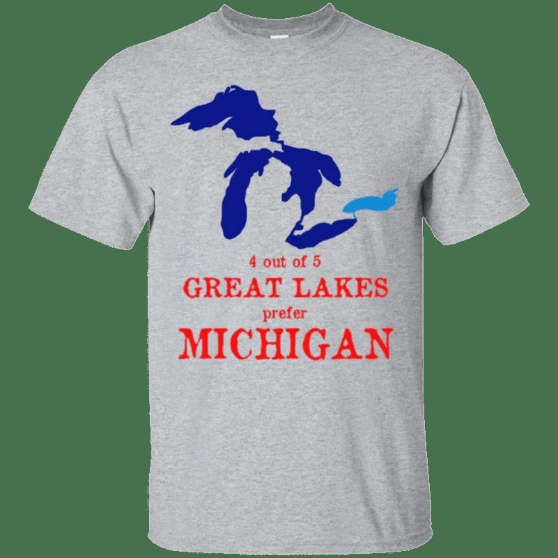 934569ed 4 Of 5 Great Lakes Prefer Michigan Shirt Fcaware