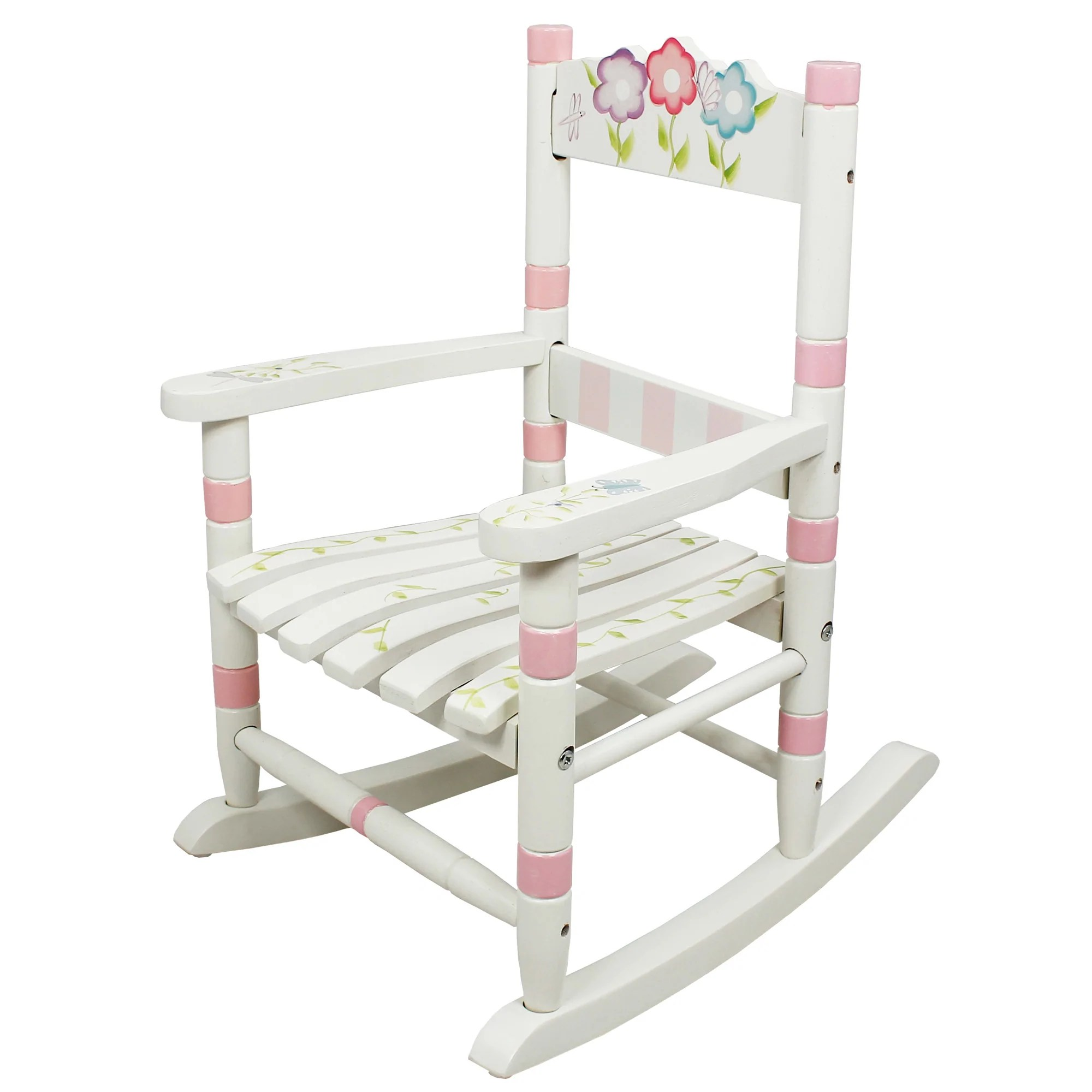 Child Wooden Rocking Chair Details About Sold Out Fantasy Fields Childrens Bouquet Kids Wooden Rocking Chair Nursery Room