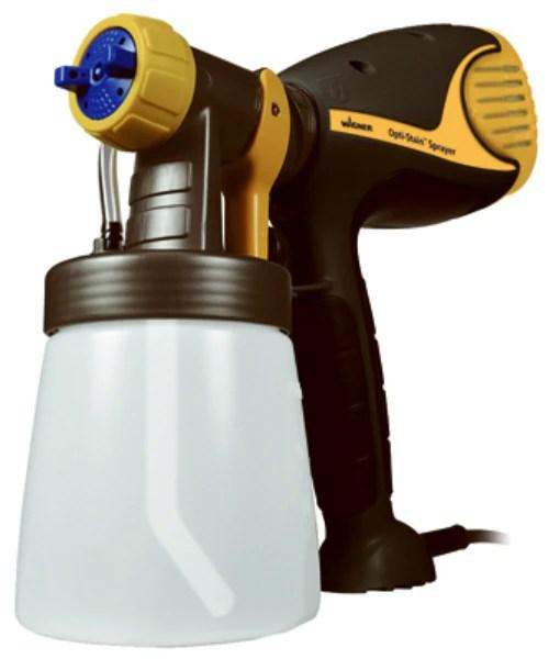 Wagner Opti Stain Plus Handheld Hvlp Paint Sprayer : wagner, stain, handheld, paint, sprayer, Wagner, 0529015, Opti-Stain, Stain, Sprayer, Staining, Projects,, Toolboxsupply.com