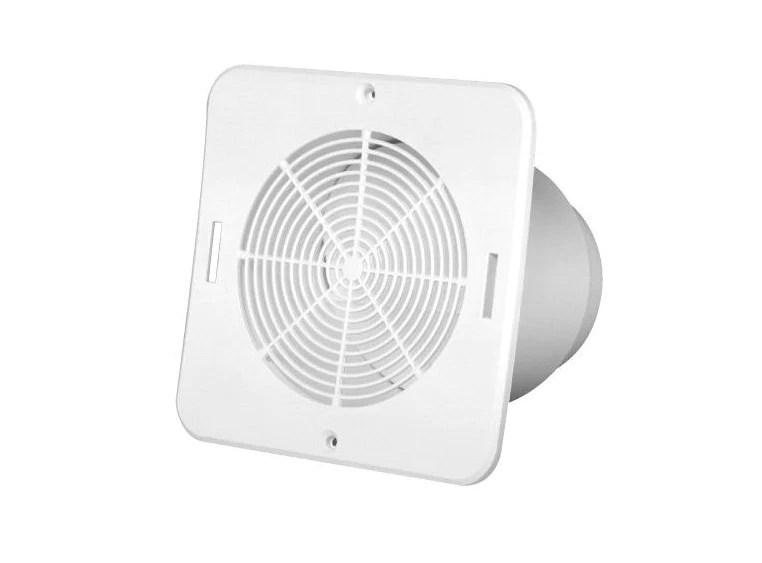 duraflo 646015 bathroom soffit exhaust vent white