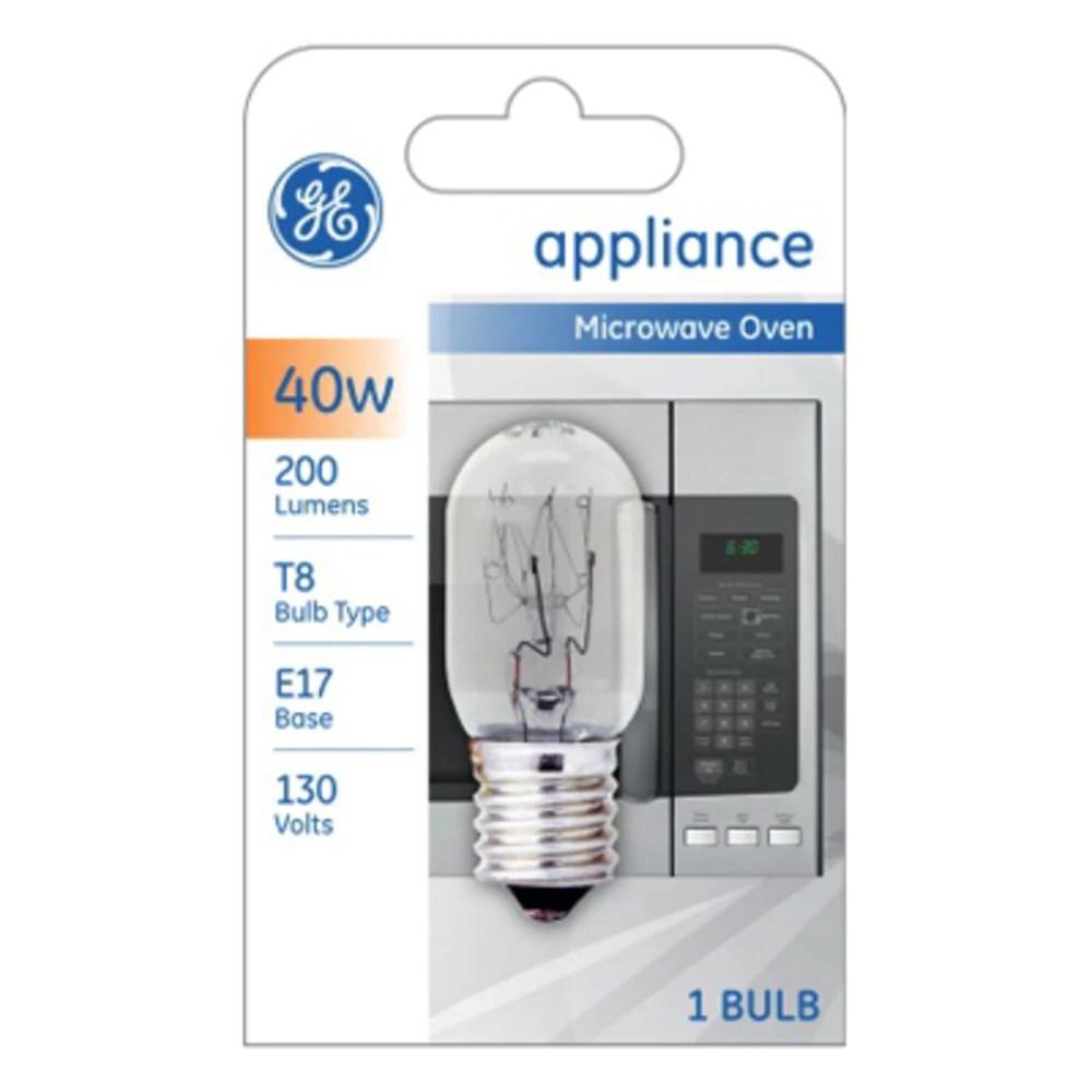 ge 84081 microwave appliance led bulb 40 watts 130 volt
