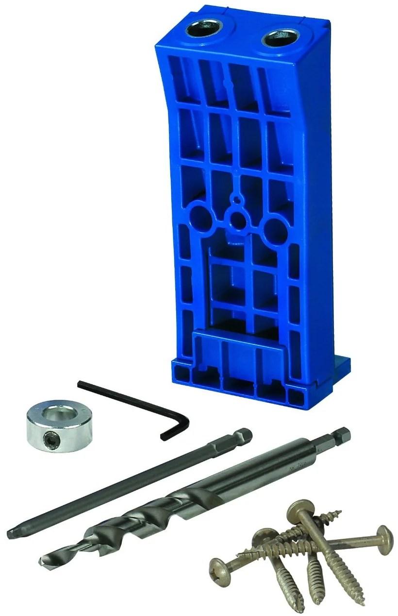 Kreg Pocket Hole Kit : pocket, Heavy-Duty, Pocket-Hole, Toolboxsupply.com