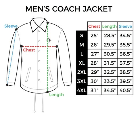 also size chart mens coach jacket inkaddict rh
