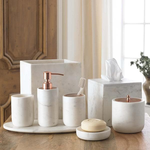 Pietra Marble Bathroom Accessories  Hudson  Vine