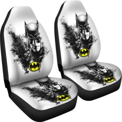 Batman Car Chair Swivel Base Seat Cover O  Novelty Trends