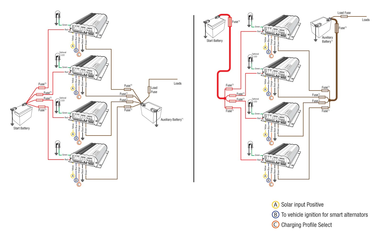 Trailer Connector Wiring Together With Battery Isolator Wiring Diagram