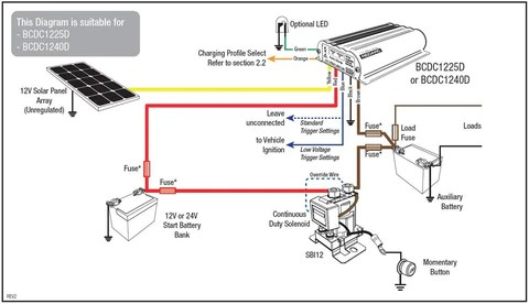 redarc bcdc1220 wiring diagram 48 volt golf cart instructions worksheet and guides electronics rh redarcelectronics com aftermarket ignition switch home doorbell