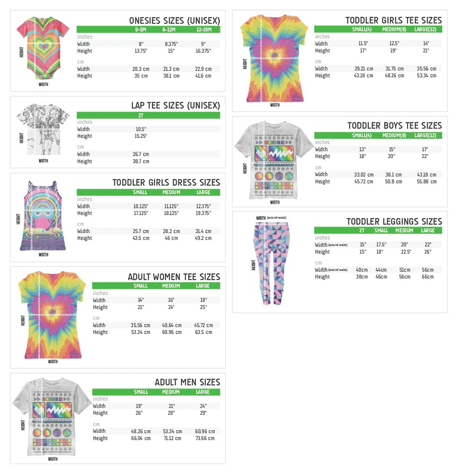 Do you have  size chart for your clothing items also frequently asked questions  googooandgaga rh