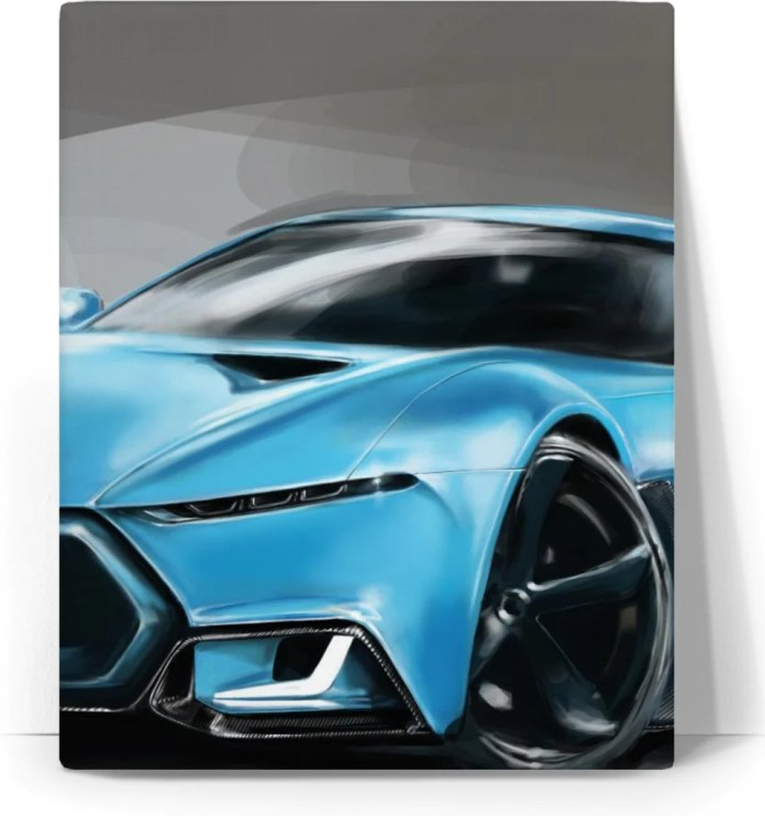 t-kroud: dream car - canvas for sale