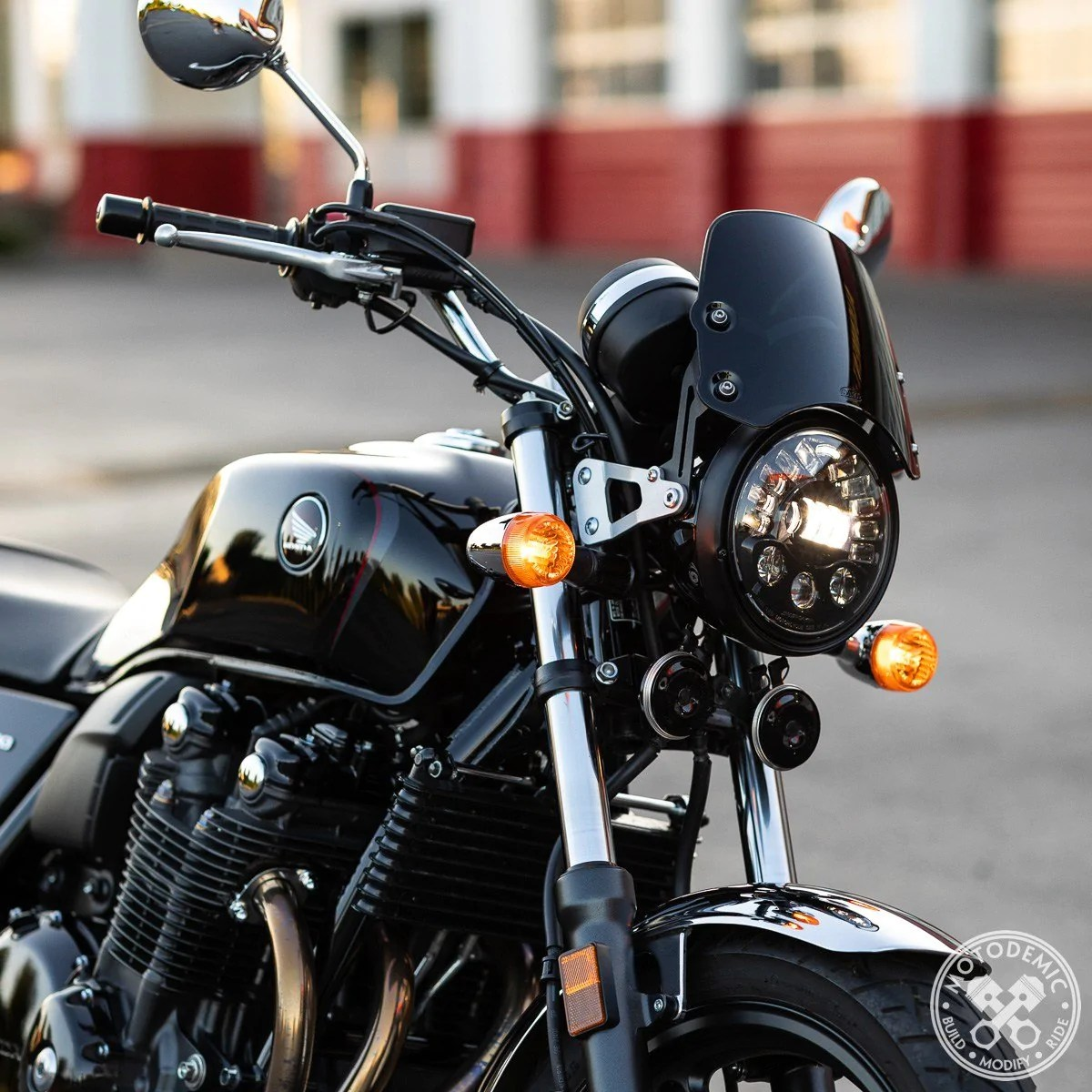 motodemic cb1100 led headlight upgrade 13 16  [ 1200 x 1200 Pixel ]
