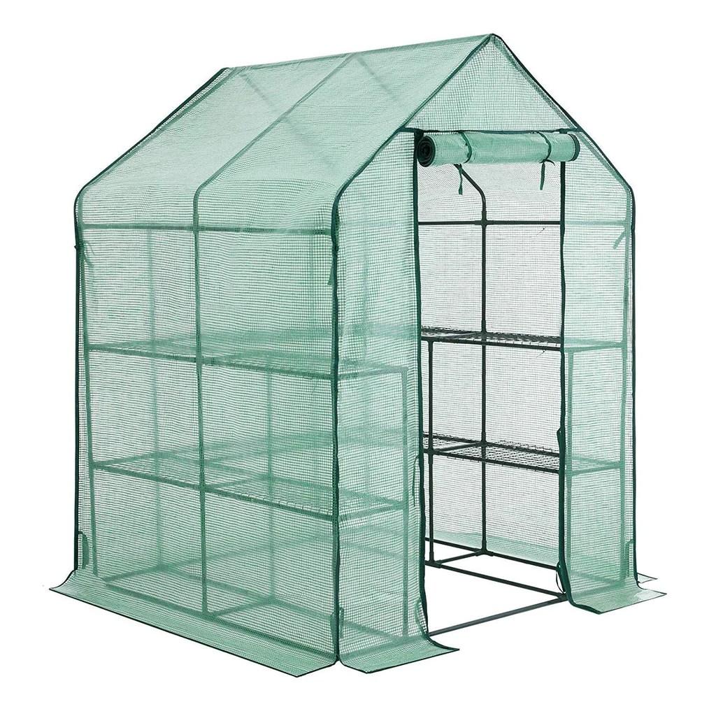 youke serre de jardin pe plastique tente abri diverses modeles 143 x 143 x 195 cm
