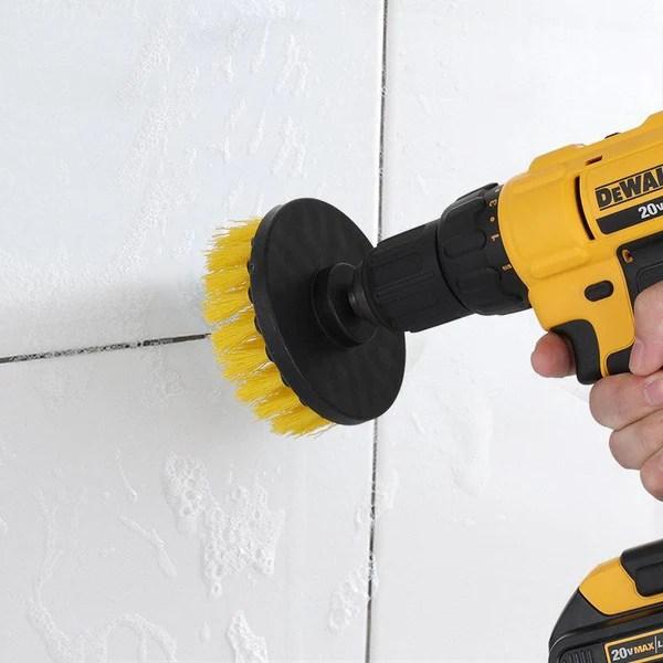 power scrubber drill brush