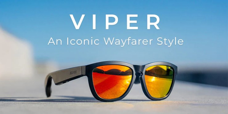 ZUNGLE sunglasses headphones, bone conduction sunglasses headphones