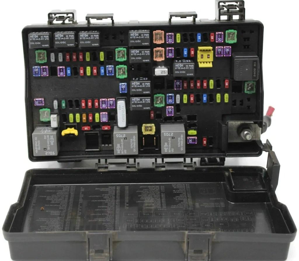 medium resolution of 2013 2014 dodge ram integrated power fuse box module p68089578ad