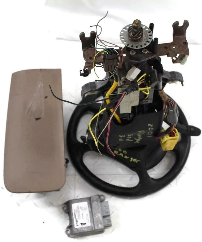 medium resolution of 2001 ford ranger steering column manual w bag set module 00 01