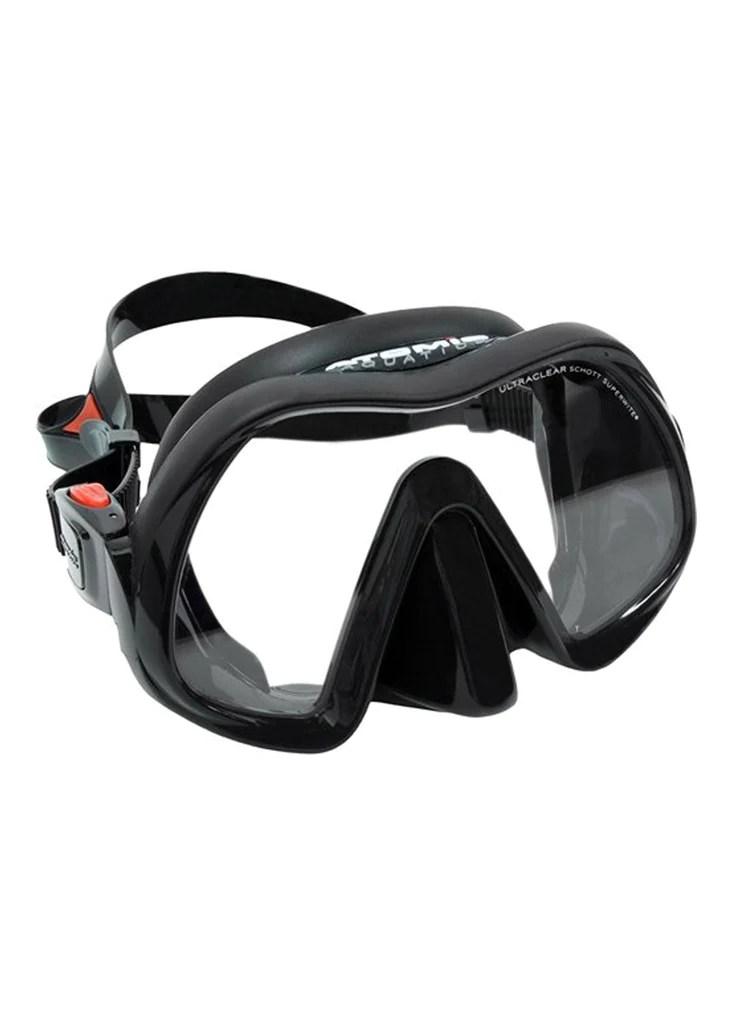 Atomic Venom Frameless Mask - Black – Adreno Scuba Diving