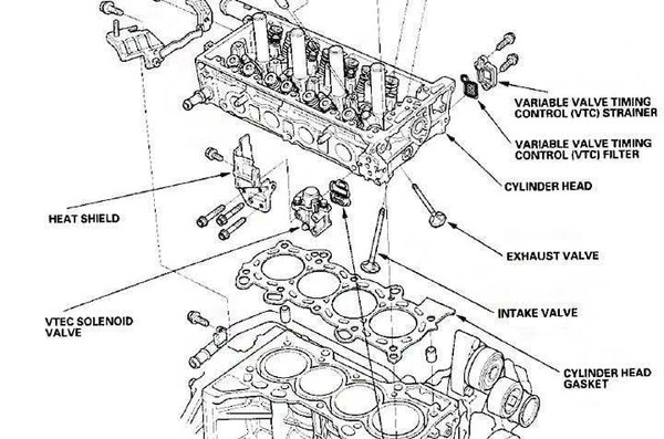 diagram of fuel filters for 1999 honda accord