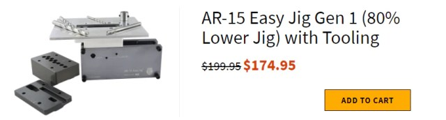 AR-15 Easy Jig Gen 1 (80% Lower Jig) with Tooling